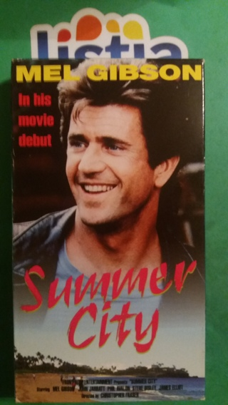VHS movie  summer city  free shipping