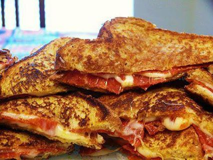 pizza grilled sandwich recipe