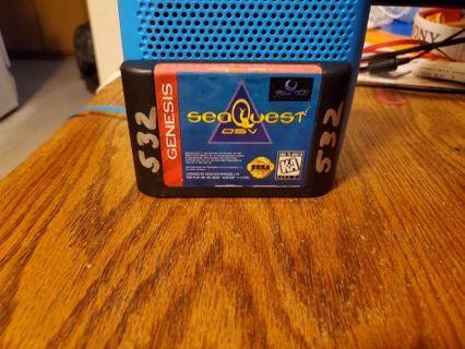 seaQuest DSV Sega Genesis