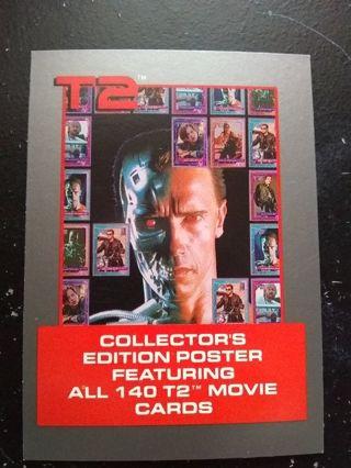 1991 Terminators 2 Merchandise Trading Card