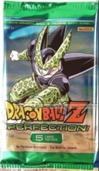 NEW DragonBallZ Collectible Trading Cards Perfection Booster Pack Cel Goku Vegeta DBZ Dragon ball