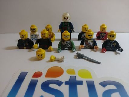 LEGO people pieces