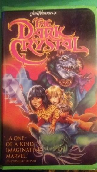 vhs the dark crystal  free shipping
