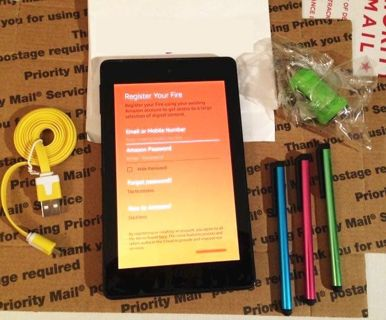 Amazon FIRE Tablet With Alexia & Bundle Tablet eReader Digital Electronic FREE SHIPPING
