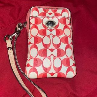 Coach Wristlet Phone Case + Surprises Inside!