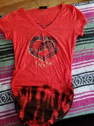 Echo red shirt lrg