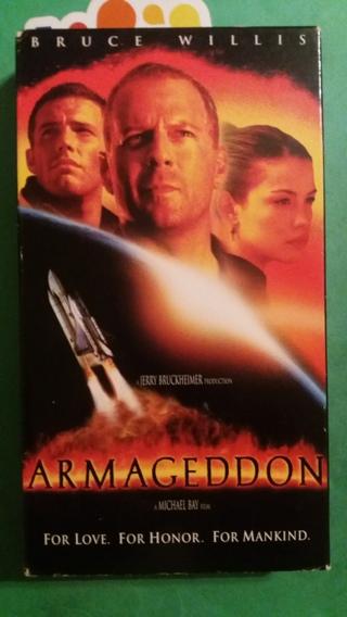 VHS movie  armageddon  free shipping