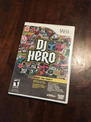 DJ Hero Video Game + Controller [Nintendo Wii]