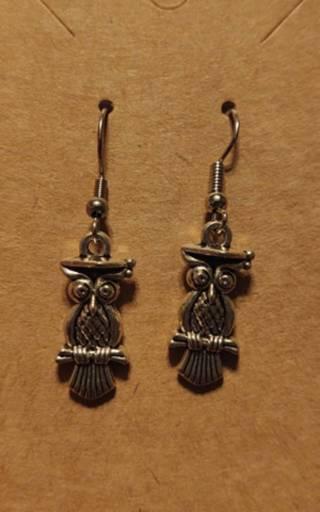 (GIN FOR SHIPPING) 20 Pair Owl Earrings