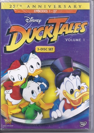 Brand New Never Been Open 3 disc Set Of Duck Tales Episodes 1-27