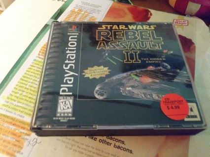 Playstaion game star wars