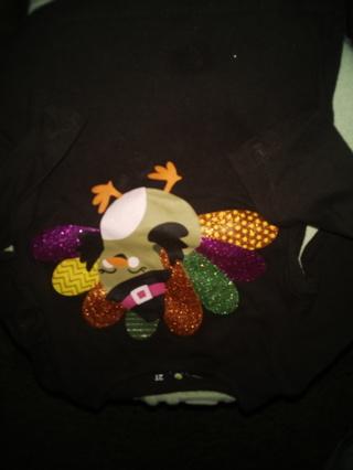 Jumping Beans Turkey Shirt 2T