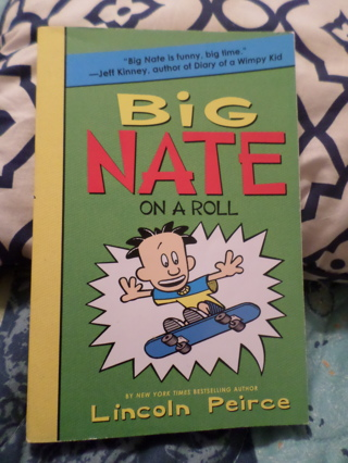 Big Nate On A Roll Book by Lincoln Pierce