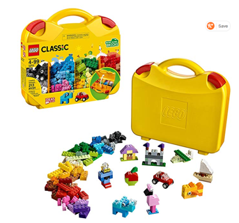 ⭐️⭐️⭐️⭐️LEGO Classic Creative Suitcase 10713 Building Kit (213 Pieces)