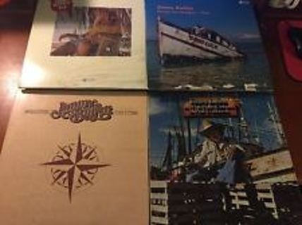 Jimmy Buffet Record Collection *Great Shape* 7 [Seven] Different!