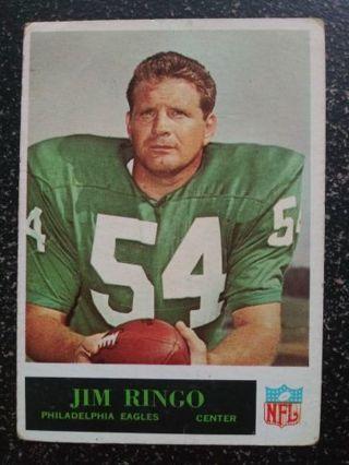 '65 Philadelphia Jim Ringo (Eagles)(HOF)