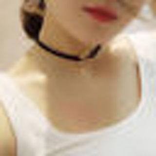 Delicate Black Velvet Gold Ring Charm Pendant Doul Layer Necklace Lady Choker