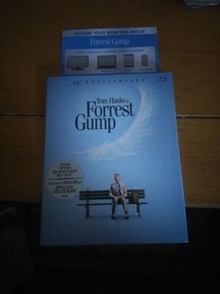 ***code only*** Ultra HD Digital Blu Ray copy of Forrest Gump with 3 hours of extras.