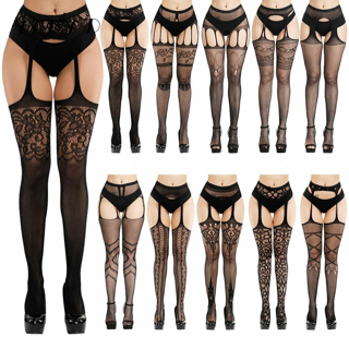 ✿Free Shipping✿ Erotic Stockings With Garter Belt For Women x1pc