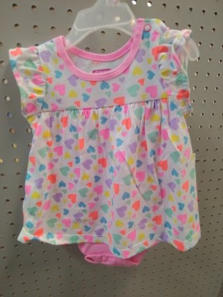 NWT! Swiggles - Baby Girls Romper Size: 0-3mths 60% COTTON 40% polyester