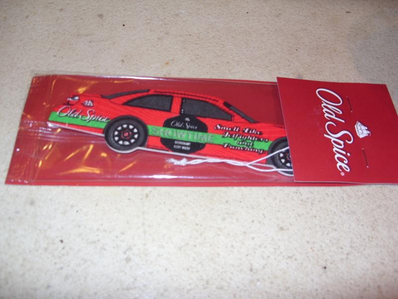 Old spice car freshener