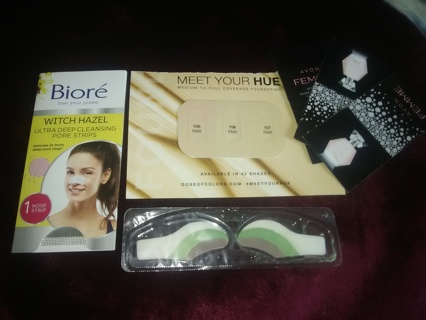 8pc Beauty & Makeup Lot. * Avon * Bior`e * Dose Of Colors * Majiic Beauty*  EXTRA ITEM(S) WITH GIN !