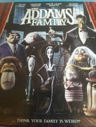 Addams Family movie HD Digital code ONLY