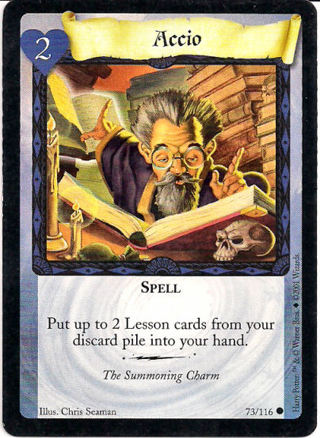 Free: Accio spell card for Harry Potter TCG - Trading ...