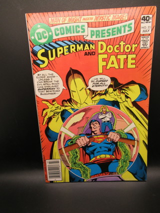 DC COMICS PRESENTS NO.23