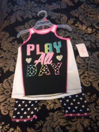 3T 2 piece Girl's outfit