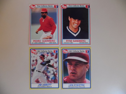 Free Post Collectors Series Baseball Cards Sports Trading