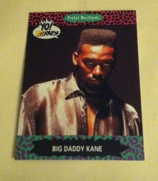 Big Daddy Kane Card/Read description before bidding