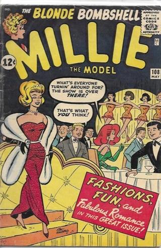 The Blonde Bombshell / Millie The Model #108 Marvel Comics