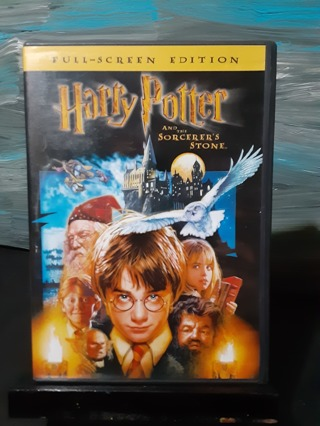 HARRY POTTER ~ SORCERER'S STONE DVD