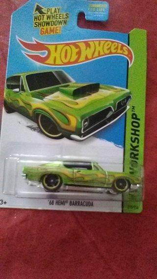 1968 Hemi Barracuda Hot wheels