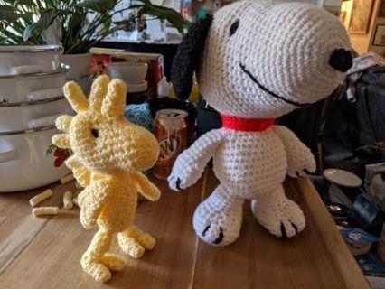 Crochet Snoopy CS-001 SNOOPY ONLY