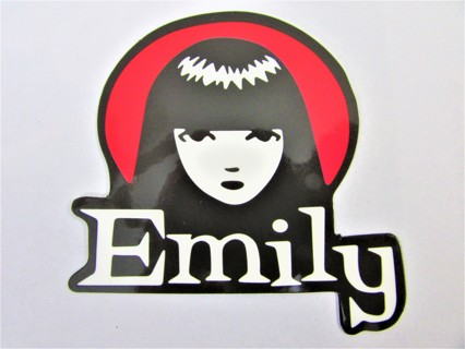 EMILY THE STRANGE Vinyl Sticker- Helmet/Car/Skateboard/Business/Crafts