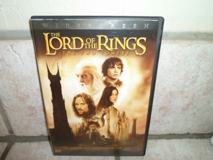THE LORD OF THE RINGS-THE TWO TOWERS* TWO DISC-GOOD CONDITION*