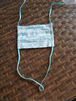 Face Mask~ Adjustable Straps Teen/Woman/Medium Size/Nose Wire w/Filter pocket