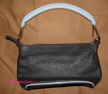 Cecconi Piero Designer Leather Handbag Authentic