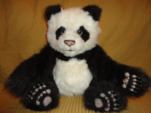 Free Rare Fur Real Friends Baby Panda Stuffed Animal