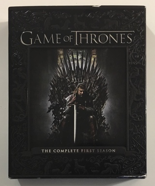 Game Of Thrones The Complete First Season 5-Disc Blu-Ray Boxed Set - Mint Discs!