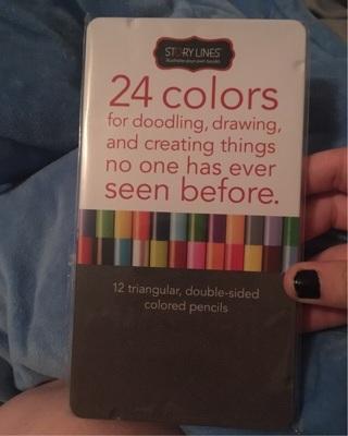 Story Line (24) Color Pencils