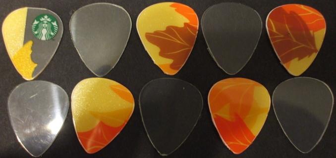 Ten Guitar Picks