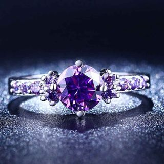Fine (Zircon) Stone Ring For Lady size 6/7/8/9