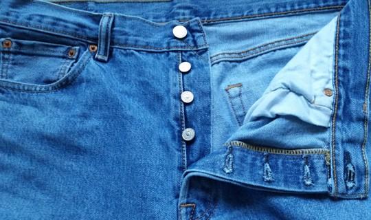 LEVIS 501 Button Fly Jeans  35W x 32L  (EUC)