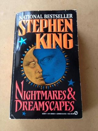 NIGHTMARES & DREAMSCAPES by Stephen King (BEFORE YOU BID ASK HOW MUCH SHIPPING COSTS TO SEND TO YOU)