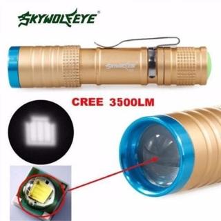 3500 Lumens 3 Modes Flashlight Torch Lamp Torch XML T6 LED Light Outdoor