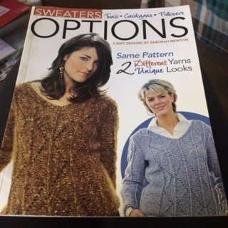 Sweater Book! Really Cool!!