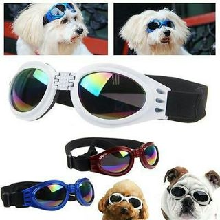 Eye Wear Protection Strap Hot Fashion Pet Dog Doggy UV Protection Sunglasses